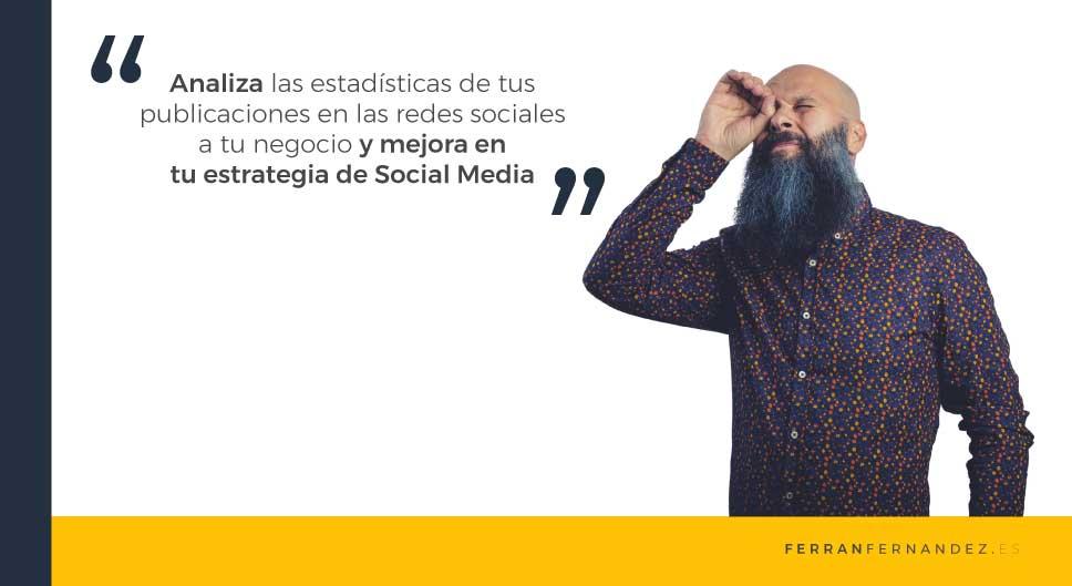Estrategia para mejorar las redes sociales de tu negocio